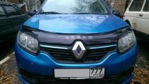 Vip tuning Дефлектор капота  Renault Logan с 2013 г.в.
