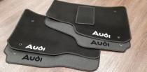 Коврики в салон AUDI A4 (B7) (Ауди A4) (2004-2008)ворсовые
