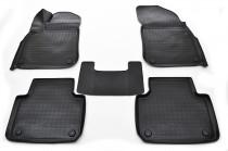 Коврики резиновые VW Touareg (2018-) черный