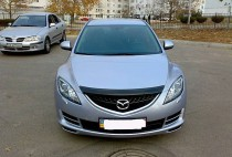 Дефлектор капота Mazda 6 (2008-)