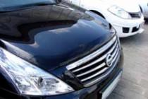 SIM Дефлектор капота Nissan Teana (2008-)