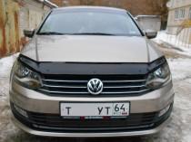 SIM Дефлектор капота Volkswagen Polo SD (2015-)