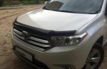 SIM Дефлектор капота  Toyota Highlander (2010-2013)