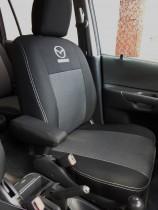 Авточехлы на сиденья Mazda 5 (7мест) с 2005-10 г.