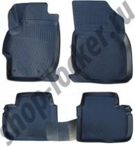 L.Locker Коврики в салон  Peugeot 301 sd 2012- полиуретановые