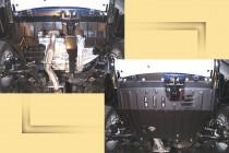 """Авто-Полигон Mitsubishi Outlander XL 2,4;3,0 2007-. Защита моторн. отс. категории """"St"""""""