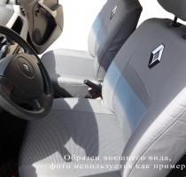 Авточехлы на сиденья Renault Sandero (раздельный) с 2013 г.  EMC-Elegant