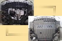 """Авто-Полигон NISSAN Note 1,4;1,6 2006-. Защита моторн. отс. категории """"St"""""""