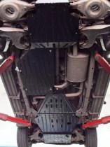 """Авто-Полигон NISSAN Pathfinder 2,5 dCi АКПП 2005-. Защита моторн. отс. категории """"A"""""""
