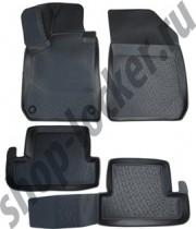 Коврики в салон  Peugeot 308 hb 2013- полиуретановые