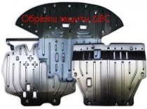"""Авто-Полигон NISSAN X-TRAIL 2,0, АКПП, 2014- Защита моторн. отс категории """"St"""""""