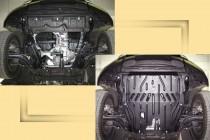 """Авто-Полигон Nissan X-TRAIL 2007-. Защита моторн. отс. категории """"St"""""""