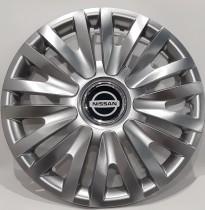 SKS/SJS 412 Колпаки для колес на Nissan R16 (Комплект 4 шт.)