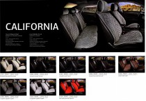 Fashion Накидка для сидений Калифорния бежевый (пара)