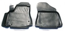 Коврики в салон Peugeot Parther Tepee 2008- передние полиуретановые L.Locker