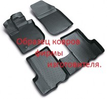 L.Locker Коврики в салон Renault Kangoo 1998- передние полиуретановые