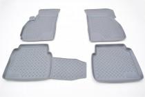 Unidec Коврики резиновые Hyundai Santa Fe 2000-2006 серый