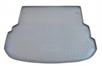 Коврик в багажник Mercedes-Benz GLK-Class X204 2008-2013 серый Unidec