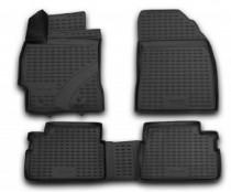 Резиновые коврики в салон Toyota Corolla 2007- NovLine