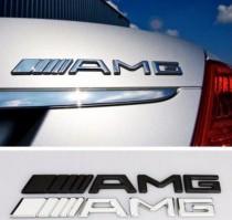 Надпись на крышку багажника Mercedes AMG new