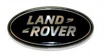 Logo Эмблема на багажник черная Land Rover