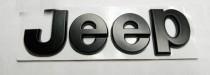 Logo Надпись jeep black new  для jeep