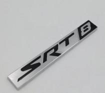 Logo Надпись Srt8 black для jeep