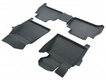 Коврики резиновые в салон 3D LUX для BMW X5 G05 (2018-) САРМАТ
