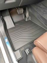 Коврики резиновые в салон 3D LUX для BMW X6 (G06) (2019-)  САРМАТ