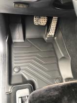 Коврики резиновые в салон 3D LUX для Mercedes-Benz GLE W167 (2018-) САРМАТ