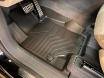 Коврики резиновые в салон 3D LUX для Mercedes-Benz GLS (2019-) САРМАТ