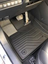 Коврики резиновые в салон 3D  для Toyota Rav4 (2018-) САРМАТ