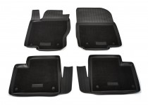 Коврики салона комбинированные  Mercedes-Benz ML/GL/GLE-Class W164/166 Unidec гибрид