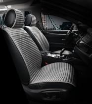 ELEGANS Накидка на сиденье FLORIDA (серый / передние)