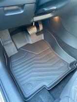 Коврики резиновые 3D LUX для Volkswagen Jetta VII (2018-) САРМАТ