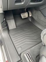 САРМАТ Коврики резиновые в салон 3D LUX для Audi Q7 2015-