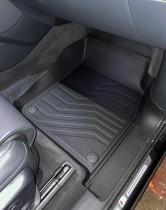 САРМАТ Коврики резиновые в салон 3D LUX для Audi Q8 2018-