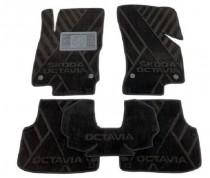 Композитные коврики в салон Skoda Octavia III A7 2013- AVTO-Т