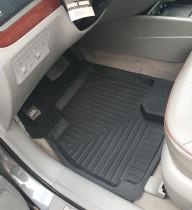 Коврики в салон Резиновые.Hyundai Santa Fe Classic (06-10)