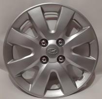 OAE Колпаки для колес A101 Hyundai R15 (комплект 4шт.) с имитацией болтов