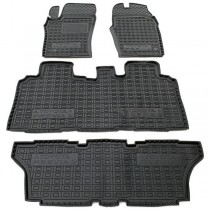AvtoGumm Резиновые коврики в салон Toyota Previa (2000-2005) (6-7мест)