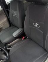 Авточехлы на сиденья LADA Vesta cross  2017- Avto-Nik