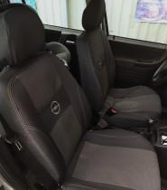 Авточехлы на сиденья Opel Zafira А 7 мест 1999-2004г