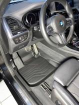 САРМАТ Коврики резиновые в салон 3D LUX для BMW X3 (G01)