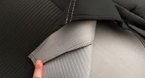 Favorite Оригинальные чехлы на сиденья Skoda Spaceback (Rapid Combi) 2013-