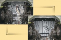 "Авто-Полигон TOYOTA RAV4 2,0; 2,4 2006-. Защита моторн. отс. ЗМО категории ""St"""