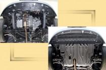 "Авто-Полигон TOYOTA Yaris 1,3; 1,5 2006-. Защита моторн. отс. ЗМО категории ""St"""