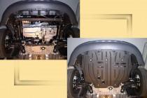 "VOLKSWAGEN Caddy 1,4; 1,6F; 1,6i; 2,0i; 1,9D2,0FSi 2004-. Защита моторн. отс. категории ""E"""