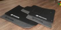 Коврики в салон Toyota Previa (Тойота Превия) (2006-2011)ворсовые