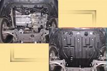 """Авто-Полигон VOLKSWAGEN Passat B6 2,0; 2,0T Мех, Авт 2005-. Защита моторн. отс. категории """"E"""""""